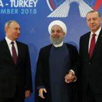 RUSIA, IRAN DAN TURKI SEPAKAT AKAN MENGGESER ASSAD